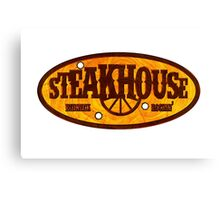 Steakhouse redneck rockin' band 1 Canvas Print