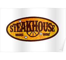 Steakhouse redneck rockin' band 1 Poster