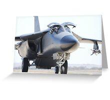F-111 at Avalon airshow Greeting Card