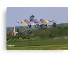 Gloster Meteor T.7 WA591/FMK-Q G-BWMF Canvas Print