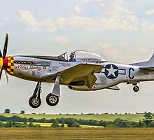 "P-51D Mustang 44-74427 F-AZSB ""Nooky Booky IV"" by Colin Smedley"