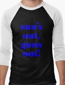 Summer Vest - GUNS Men's Baseball ¾ T-Shirt