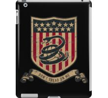 Don't Tread On Me Soccer iPad Case/Skin