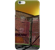 The prison iPhone Case/Skin