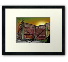 The prison Framed Print