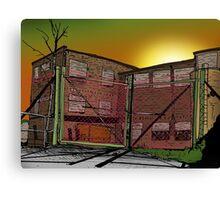 The prison Canvas Print
