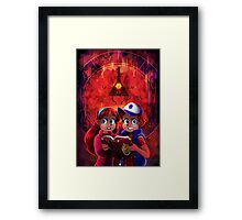 WHAT KIND OF DISASTER INDEED Framed Print