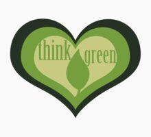 Think Green Baby Tee
