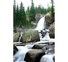 Stunning Alberta Falls Photographic Print