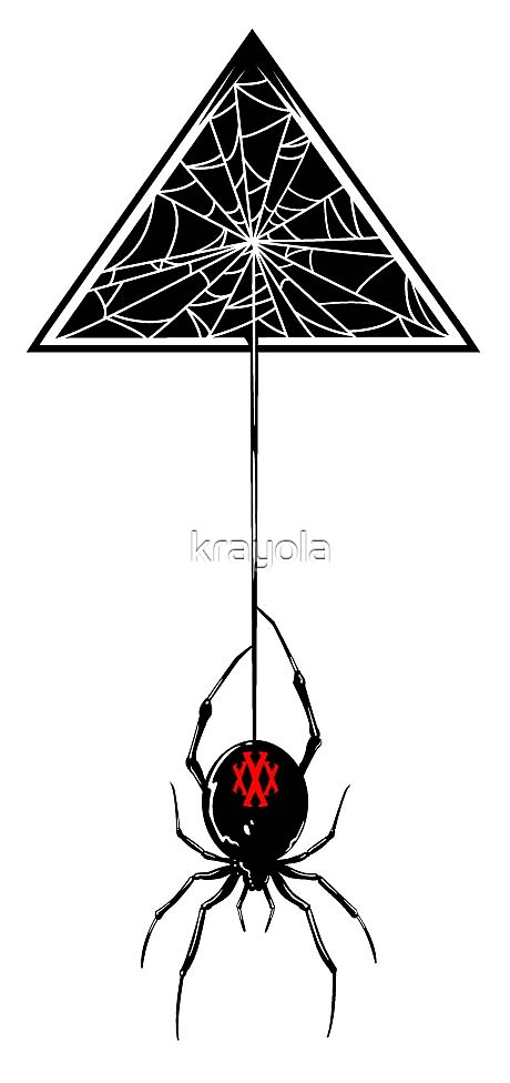 Spider in the triangle by krayola