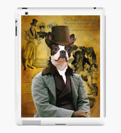 Boston Terrier Art - Gentleman iPad Case/Skin