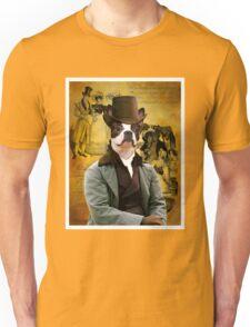 Boston Terrier Art - Gentleman Unisex T-Shirt