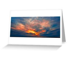 Dawn Sky Greeting Card