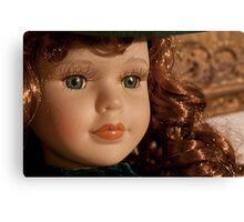 beautiful vintage scarlett o'hara toy doll Canvas Print