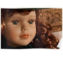 beautiful vintage scarlett o'hara toy doll Poster