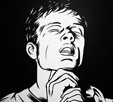 Ian Curtis by krayola