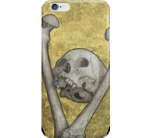 """We All End Up In A Box""  iPhone Case/Skin"