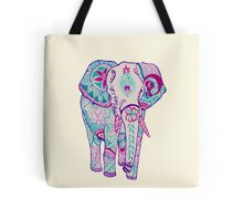 Colorful Elephant Tote Bag