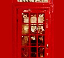 London telephone box by ailbhe