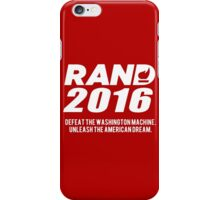 Rand Paul 2016 iPhone Case/Skin