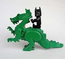 Batman on a Dragon by Christina Stanley