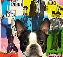 Boston Terrier Art - 30 Years of Fun Movie Poster by NobilityDogs