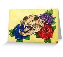Beauty is the Beast Greeting Card