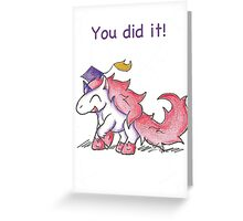 Glitter Grad Greeting Card