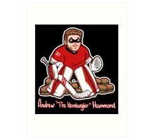 "Andrew ""The Hamburglar"" Hammond Art Print"