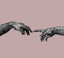The Creation of Adam - {Connection} by chickenugget