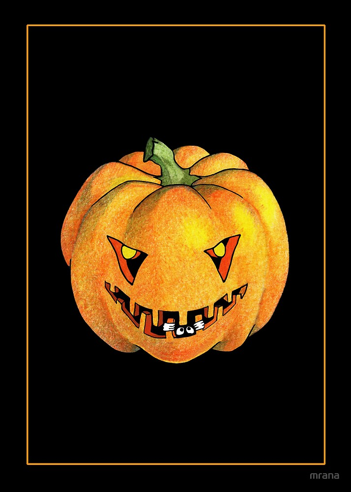 Halloween Pumpkin by Mariana Musa