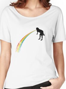 Rainbow Undigested Women's Relaxed Fit T-Shirt