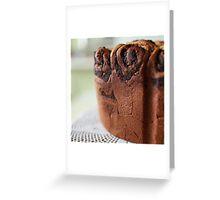 crispy cake Greeting Card