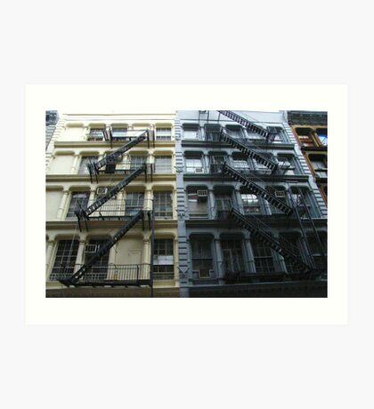 exterior design Art Print