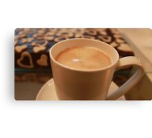 big cup of coffee Canvas Print