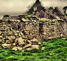 IRISH STONE HOUSE  by TIMKIELY