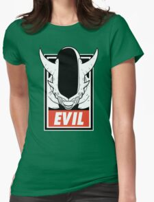 Evil 3er Womens Fitted T-Shirt