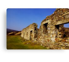Old Gang Smelt Mill #2 Canvas Print