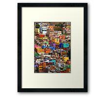 Favela Chic Framed Print