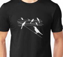 Wired White Unisex T-Shirt