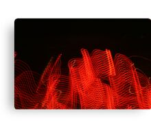tail lights Canvas Print