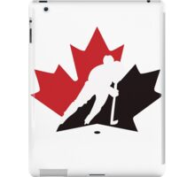 canada hockey iPad Case/Skin