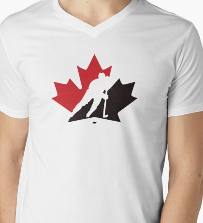 canada hockey Mens V-Neck T-Shirt