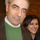 Meeting Rowan Atkinson by karenuk1969