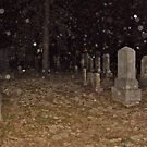 Rain In the Cemetery At Night by Jane Neill-Hancock