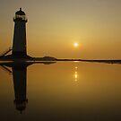 Talacre Beach & Lighthouse by est1979