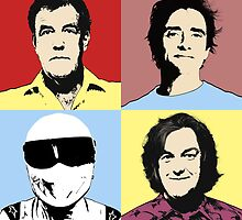 The Top Gear Team - POP Art by TopGearbox