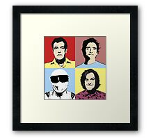 The Top Gear Team - POP Art Framed Print