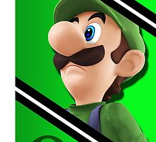 Luigi-Smash 4 Phone Case by TomsTops