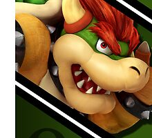 Bowser-Smash 4 Phone Case by TomsTops